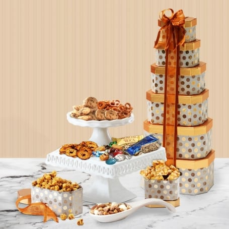 Elegance Birthday Gift Tower