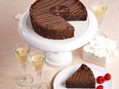 Triple Chocolate Brownie Cake Mothers Day