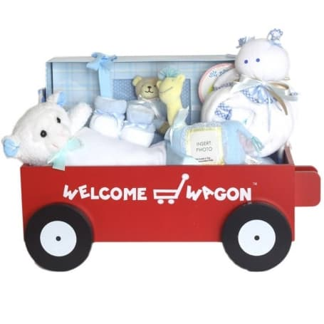 Baby Boy Deluxe Welcome Wagon