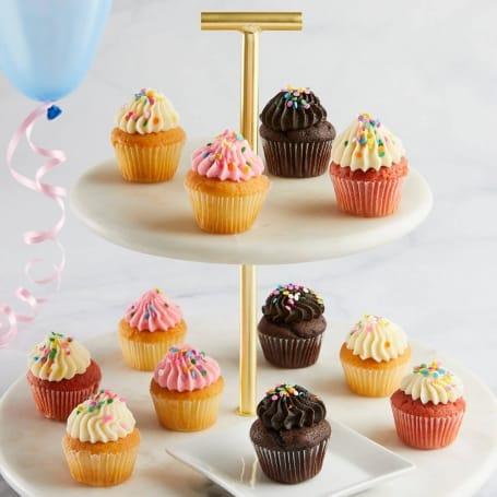 Birthday Cupcakes - Mini