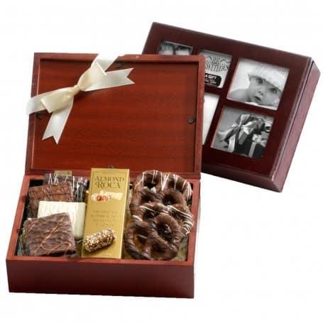 Christmas Chocolate Photo Gift Box