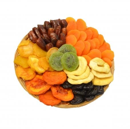 Round Dried Fruit Gift Tray