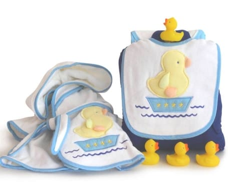 Baby Boy Duck in a Row Gift Set