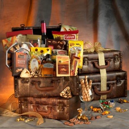 Passport To Luxury Purim Gift Basket