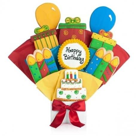 Happy Birthday Cookie Bouquet
