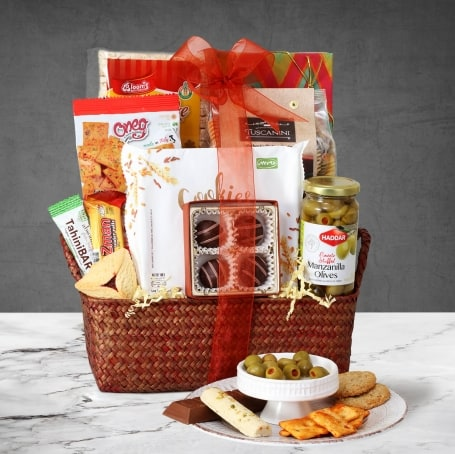 Gourmet Shalach Manos Purim Gift Basket