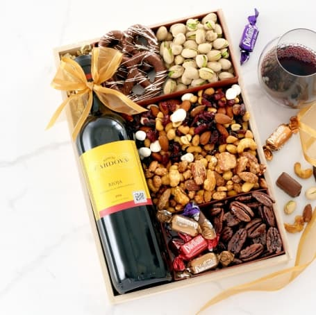 Very Berry Wine Gift Tray