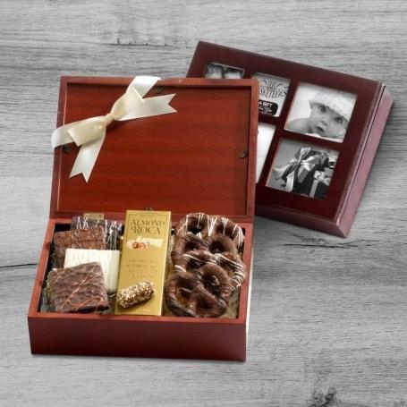 Beloved Chocolate Photo Gift Box