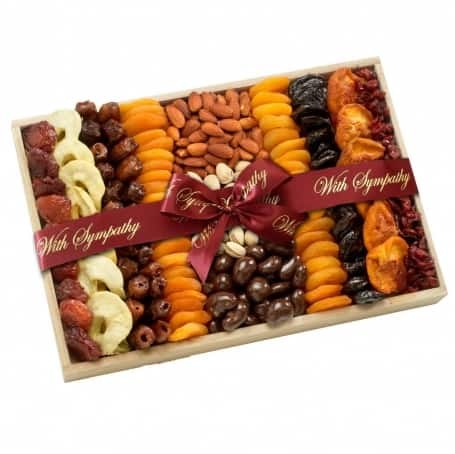 Thoughtful Dried Fruit and Nuts Gift Tray