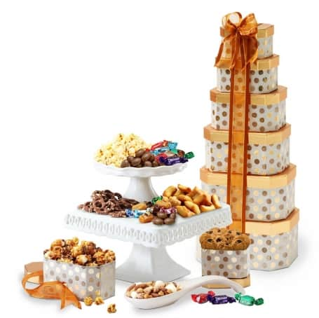Appreciation for Mom Gift Tower