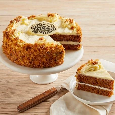 Happy Birthday Carrot Cake