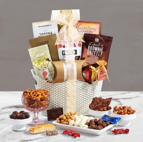 Sweet Honeycomb Gourmet Gift Basket