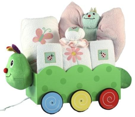 Welcome Wagon Caterpillar Baby Girl Set
