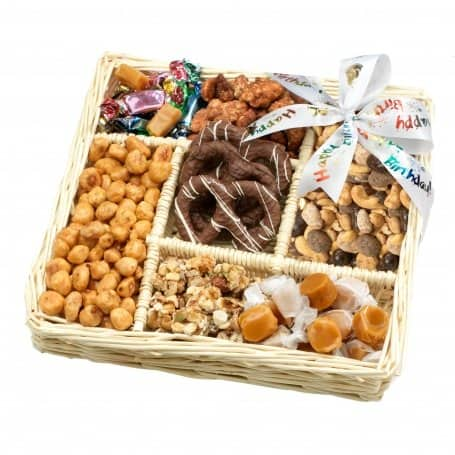 Birthday Gift Tray Filled With Chocolate