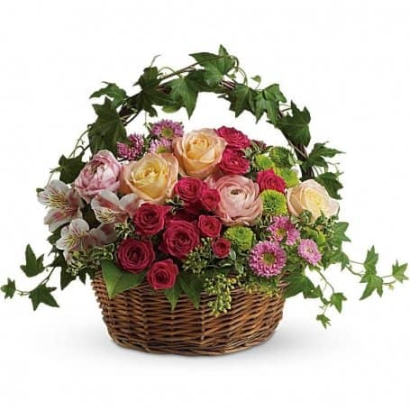 Fairest of All Flower Basket