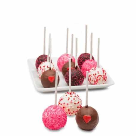 Valentines Day Truffle Cake Pops