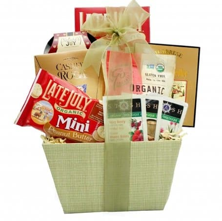 Natural gift basket vert healthy organic gift basket natural gift basket healthy organic gift basket negle Gallery