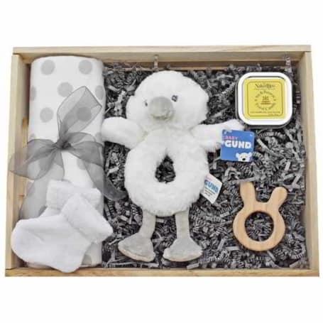 Baby Swan Gift Box