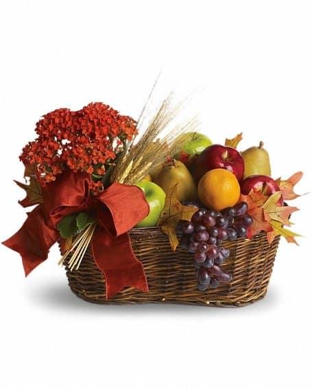 Harvest & Autumn Gift Basket | Fruit Basket Online