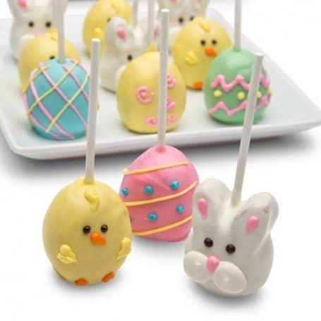 Easter Truffle Cake Pops