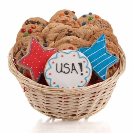 July 4th Cookie Gift Basket