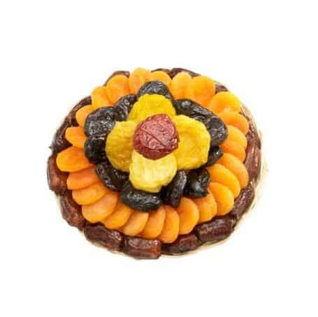 Heart Healthy Floral Dried Fruit Gift Tray - Small