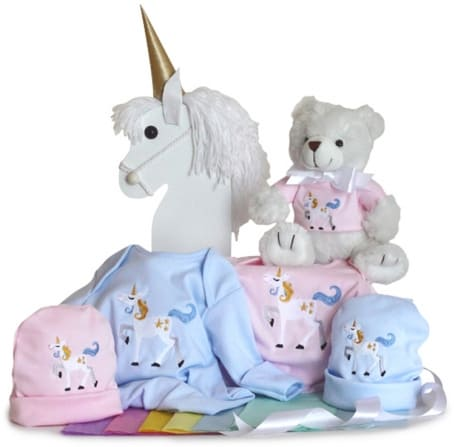 Magical Unicorn Gift Set for Twins