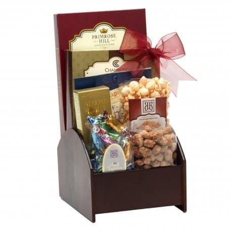 Christmas Basket Deliveries   Wooden Desk Caddy