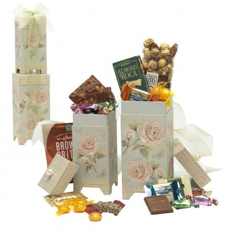 Floral Two Piece Snack Gift Set