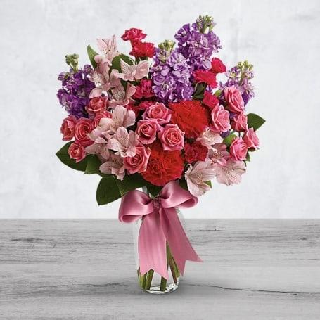 Valentines Day Garden Bouquet