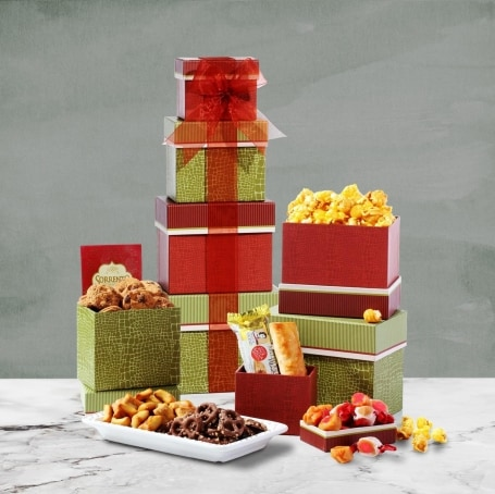 Christmas Thinking of You Gift Tower