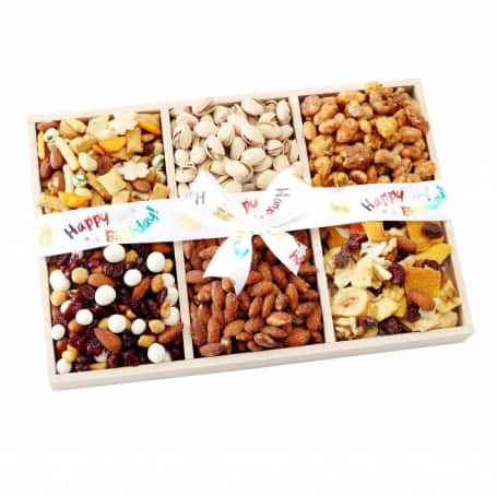 Happy Birthday Sectional Gift Tray