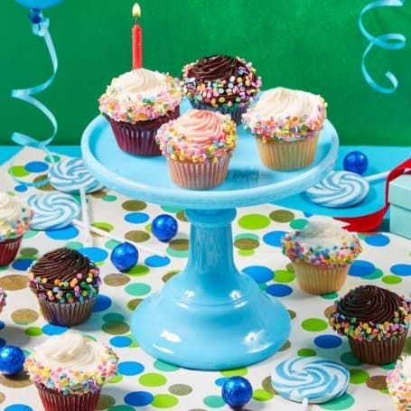 Birthday Cupcakes - Mini