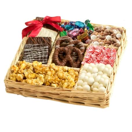 Chocolate & Nut Lovers Gift Tray