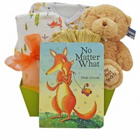 Baby Fox Gift Basket