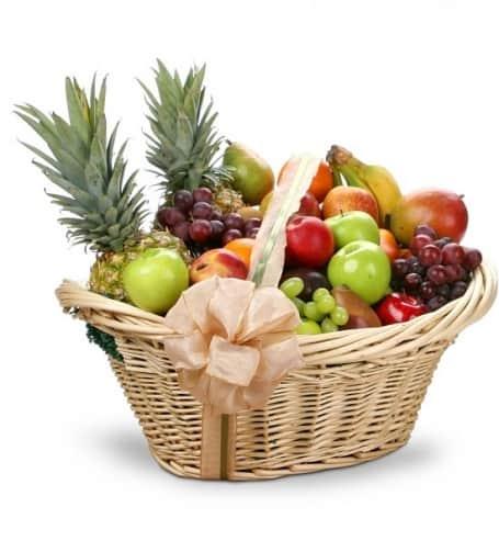 Beautiful Fresh Fruit Gift Basket