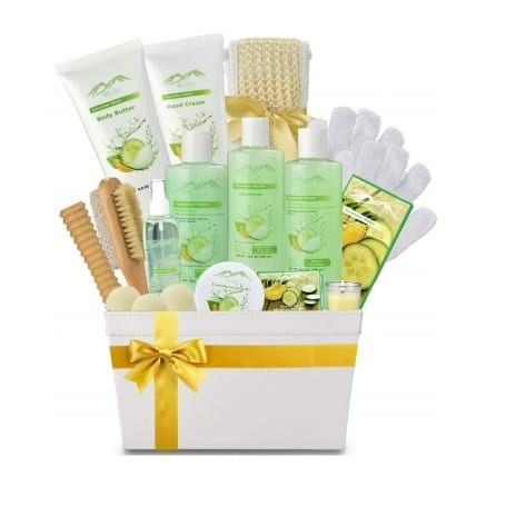 Cucumber Melon Spa Gift Basket