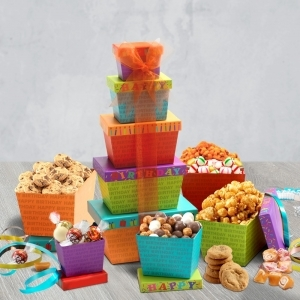 Birthday Gift Basket Delivery | Birthday Gift Tower