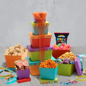 Birthday Gift Basket Delivery   Birthday Gift Tower