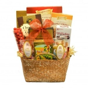 Treat yourself with a gourmet gift basket broadway basketeers gourmet snacks savory sweet gift basket solutioingenieria Images