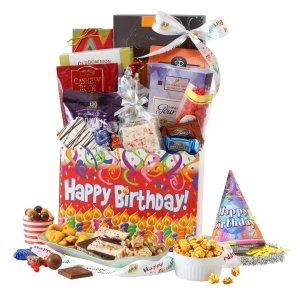 Birthday Celebration Gift Basket Free Shipping