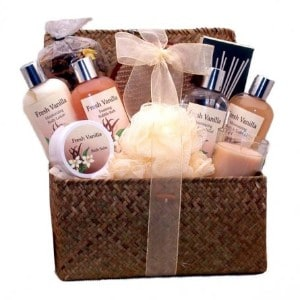 Happy Birthday Spa Basket For Her