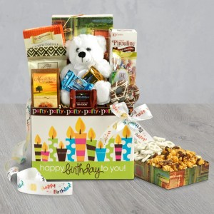 Say Happy Birthday With A Gift Basket