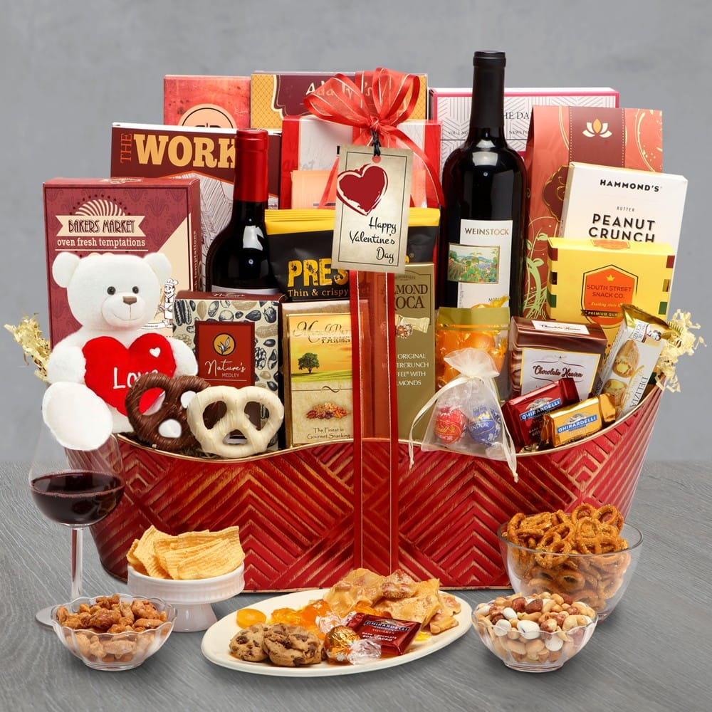 Valentines Day Executive Collection Gift Basket