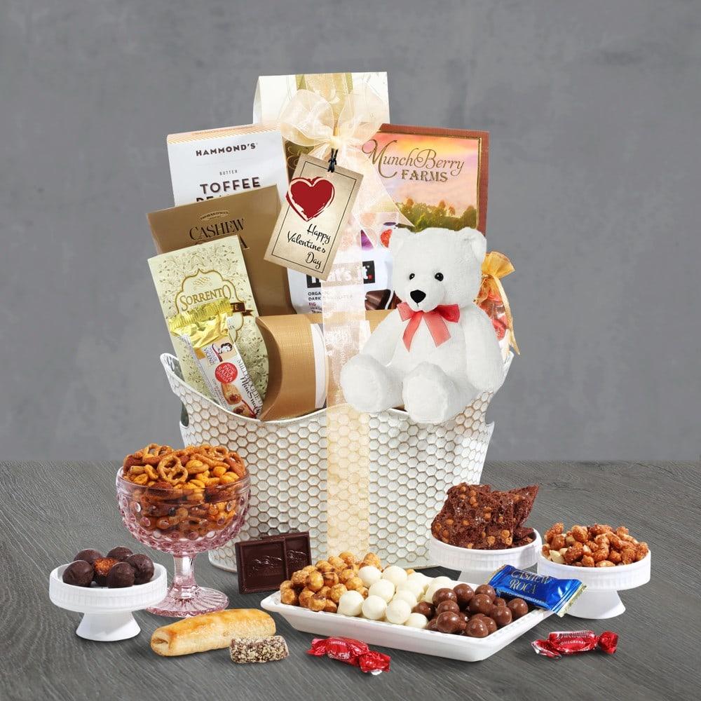 Valentines Day Gourmet Gift Basket