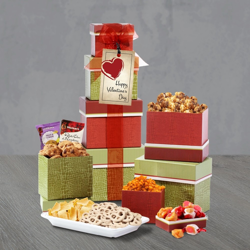 Valentine Thinking of You Gift Tower