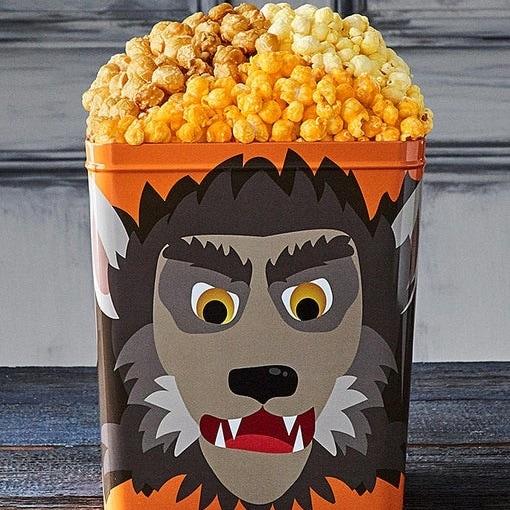 Werewolf 3 Flavor Popcorn Tin